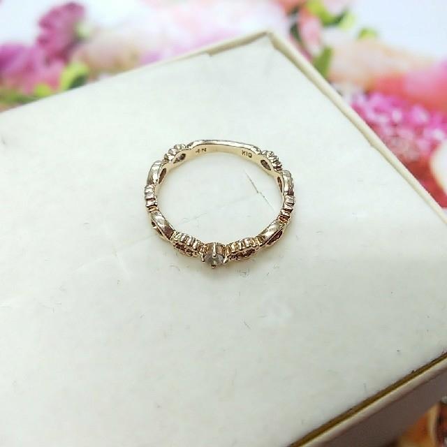 NOJESS(ノジェス)のNOJESS K10 ムーンストーンリング レディースのアクセサリー(リング(指輪))の商品写真