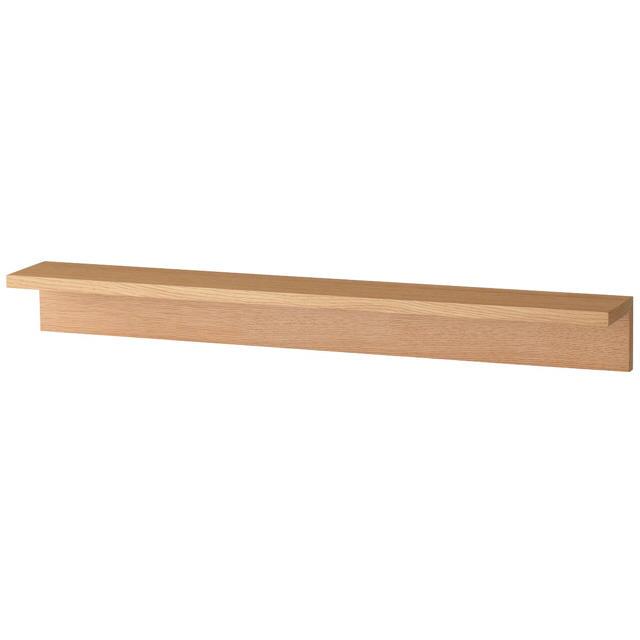 MUJI (無印良品)(ムジルシリョウヒン)の無印良品 壁に付けられる家具  インテリア/住まい/日用品の収納家具(棚/ラック/タンス)の商品写真