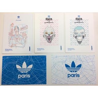 アディダス(adidas)のアディダス ポストカード adidas Originals Paris(切手/官製はがき)