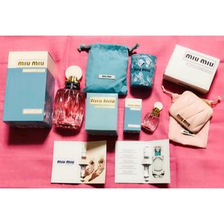 ミュウミュウ(miumiu)の限定 新品未使用 miumiu ミュウミュウ 香水 ミラー キャンドルスタンド(香水(女性用))