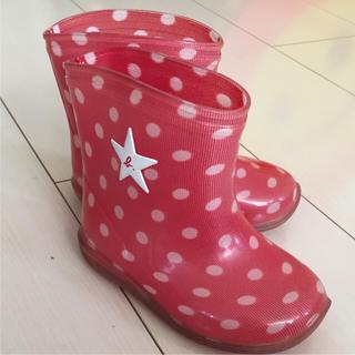 アニエスベー(agnes b.)のキッズレインブーツ  13センチ アニエスベー☆美品(長靴/レインシューズ)