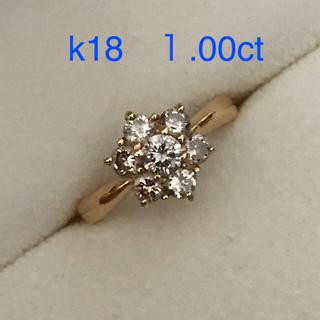 k18 ブラウンダイヤ リング(リング(指輪))