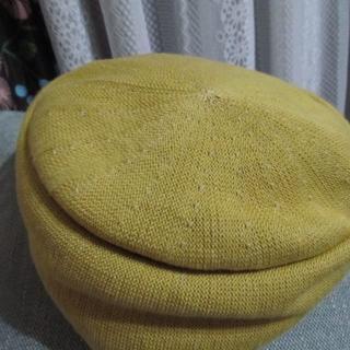 リリーブラウン(Lily Brown)の☆春色ベレー☆リリーブラウン☆落ち着いた黄色で合わせやすいです☆(ハンチング/ベレー帽)