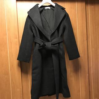 ミラオーウェン(Mila Owen)の 新品 Mila Owen ミラオーウェン 黒 コート チェスター ロング(ロングコート)