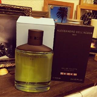 アレッサンドロデラクア(Alessandro Dell'Acqua)の新品未使用♥️アレッサンドロデラクア♥️マン♥️メンズ♥️香水♥️100ml(香水(男性用))