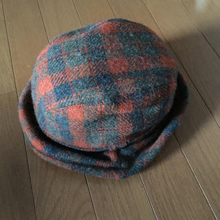 バランスウェアデザイン(balanceweardesign)のハリスツイード コラボ帽子(ハット)