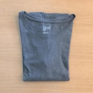 ムジルシリョウヒン(MUJI (無印良品))の無印良品 MUJI Tシャツグレー(Tシャツ(長袖/七分))