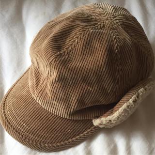 ムジルシリョウヒン(MUJI (無印良品))のMUJI キッズ 耳当て付き帽子(帽子)