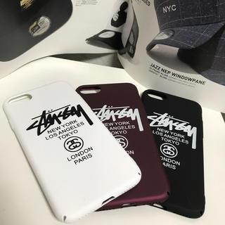 ステューシー(STUSSY)の【注目!新品】 STUSSY iPhone7/8 ハードケース (iPhoneケース)