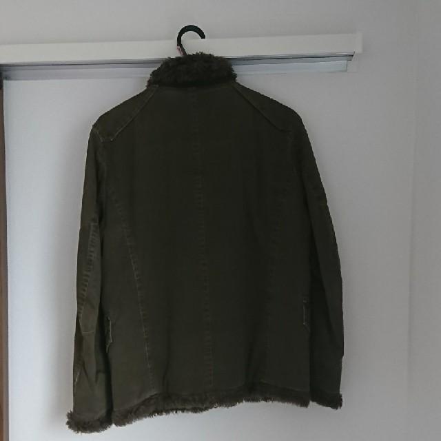 CHEVIGNON(シェビニオン)のCHEVIGNON(シェビニオン)ボアコットンライダースジャケット メンズのジャケット/アウター(ライダースジャケット)の商品写真