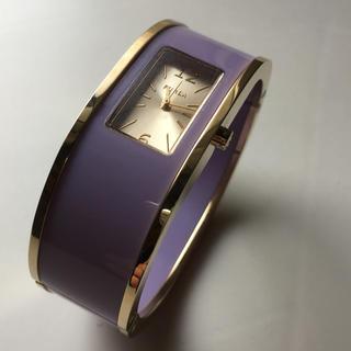 フルラ(Furla)のFURLA レディースウォッチ バングル パープル(腕時計)