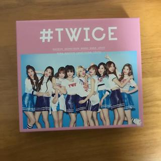 ウェストトゥワイス(Waste(twice))の#TWICE初回限定Aバージョン(K-POP/アジア)