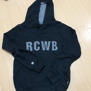 ロデオクラウンズワイドボウル(RODEO CROWNS WIDE BOWL)のRCWB☆ギンガムチェックパーカー(パーカー)