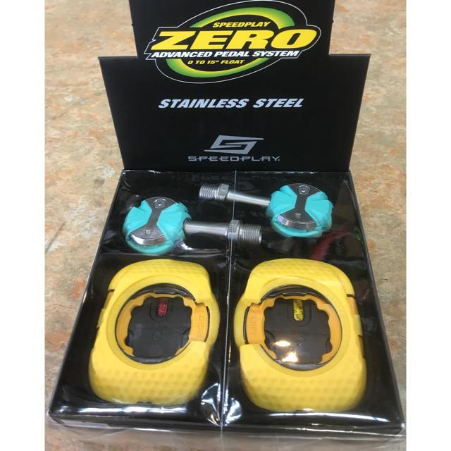 スピードプレイ ゼロステンレス ビンディングペダル チェレステ スポーツ/アウトドアの自転車(パーツ)の商品写真