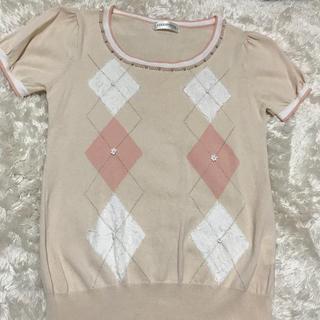ロディスポット(LODISPOTTO)のアーガイルT(Tシャツ/カットソー(半袖/袖なし))