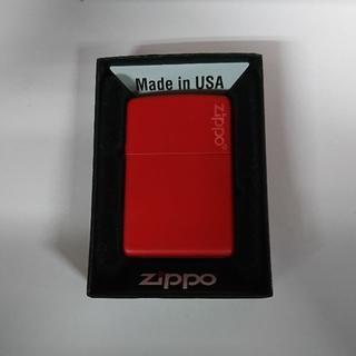 ジッポー(ZIPPO)の【新品】 ZIPPO 233ZL レッド(タバコグッズ)