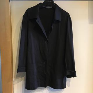 ジルサンダー(Jil Sander)のジルサンダー シャツ黒(シャツ/ブラウス(長袖/七分))