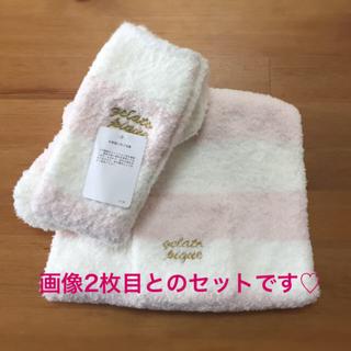 ジェラートピケ(gelato pique)のジェラートピケ 福袋  4点セット 靴下 腹巻 ヘアバンド 新品未使用(ルームウェア)