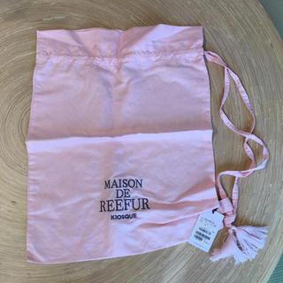メゾンドリーファー(Maison de Reefur)のMAISON DE REEFUR  ロゴタッセルポーチ(ポーチ)