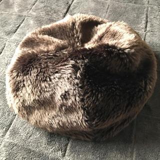 ロキエ(Lochie)のファーベレー帽(ハンチング/ベレー帽)
