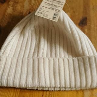 ムジルシリョウヒン(MUJI (無印良品))の無印 ワイドリブニットワッチ(ニット帽/ビーニー)
