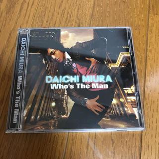 三浦大知「who's  the man」CD + DVD(R&B/ソウル)