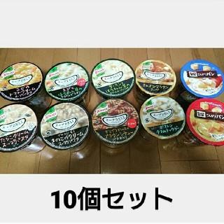 アジノモト(味の素)のクノール スープデリ8個 + ポッカサッポロ パン入りスープ2個 計10個セット(インスタント食品)