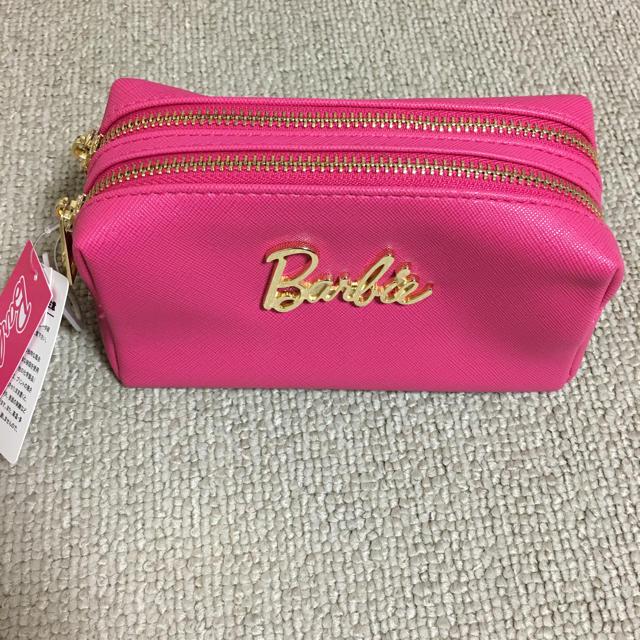 502a7accf7 Barbie(バービー)のBarbie バービー ビビット ピンク ポーチ 新品 タグ付 化粧ポーチ 人気