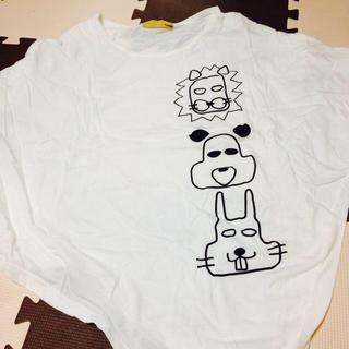 ファンキーフルーツ(FUNKY FRUIT)の個性派 ゆるキャラ ドルマンTシャツ(Tシャツ(半袖/袖なし))
