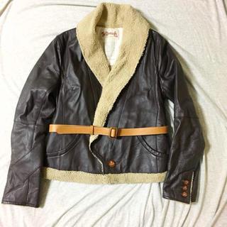 ザドレスアンドコーヒデアキサカグチ(The Dress & Co. HIDEAKI SAKAGUCHI)の新品未使用 Dress&Co. ドレスアンドコー レザージャケット(ブルゾン)