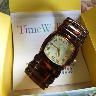 スリーフォータイム(ThreeFourTime)のcoroさま専用♡Time Will Tel腕時計♡(腕時計)