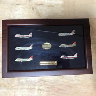 ジャル(ニホンコウクウ)(JAL(日本航空))のJAPAN AIRLINES  747記念バッジ(航空機)
