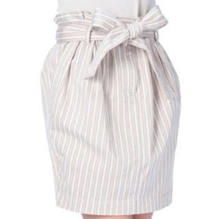 リズリサ(LIZ LISA)の値下げリズリサ ストライプ コクーンスカート(ひざ丈スカート)