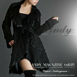 アンディ(Andy)の♥ANDY/未使用完売品スエードショート丈ムートンコートM♥  (毛皮/ファーコート)