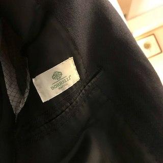 ルイジボレッリ(LUIGI BORRELLI)のBORRELLI ボレッリ スーツ ジャケット(スーツジャケット)