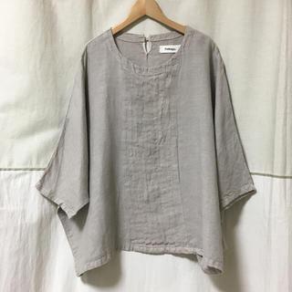 ツムグ(tumugu)のツムグ tumgu リネン プルオーバー(シャツ/ブラウス(半袖/袖なし))