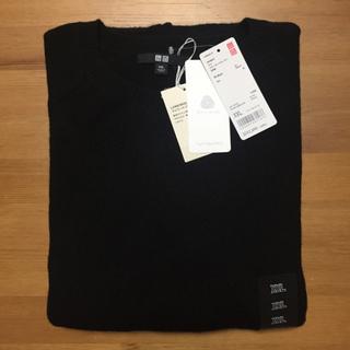 ユニクロ(UNIQLO)のユニクロ ラム クルーネックセーター 長袖 新品未使用 XXL(ニット/セーター)