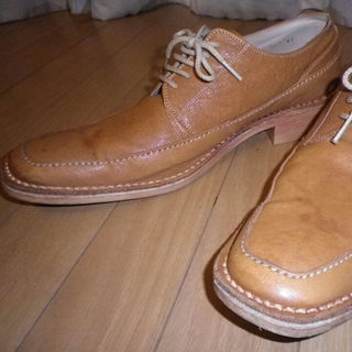 アルフレッドバニスター(alfredoBANNISTER)のアルフレッドバニスター レザー26.5cm ライトブラウン革靴(ドレス/ビジネス)