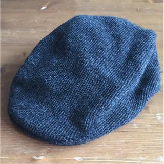 ムジルシリョウヒン(MUJI (無印良品))の無印良品☆ハンチング帽 57.5㎝(ハンチング/ベレー帽)