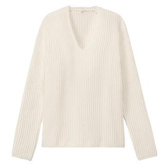 ムジルシリョウヒン(MUJI (無印良品))の無印良品 * オーガニックコットン 畦編みセーター(ニット/セーター)