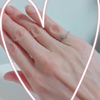 ミキモト(MIKIMOTO)のミキモト ピンキーリング 3号(リング(指輪))