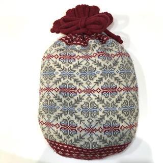 ムジルシリョウヒン(MUJI (無印良品))の湯たんぽ カバー付き 無印良品(日用品/生活雑貨)