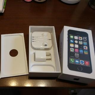 アップル(Apple)の売切れ 純正未使用イヤホン、箱、利用済み充電器、ライトニングケーブル取説(ストラップ/イヤホンジャック)