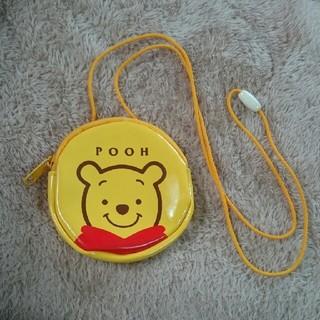 ディズニー(Disney)のプーさん 首かけ 財布 小物入れ(財布)