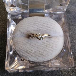 ハチ公様ご予約です♪    ダイヤ&ブルーダイヤリング(リング(指輪))