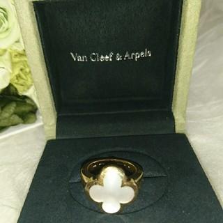 ヴァンクリーフアンドアーペル(Van Cleef & Arpels)のヴァンクリーフアンドアーペル ピュアアルハンブラリング(リング(指輪))