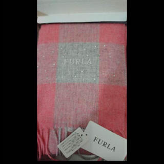 フルラ(Furla)の新品 未使用 FURLA フルラ  マフラー  ストール  ラインストーン(マフラー/ショール)