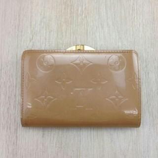 ルイヴィトン(LOUIS VUITTON)のルイヴィトン❤がま口❤折り財布❤ポルトモネビエヴィエノワ❤モノグラム ヴェルニ❤(財布)