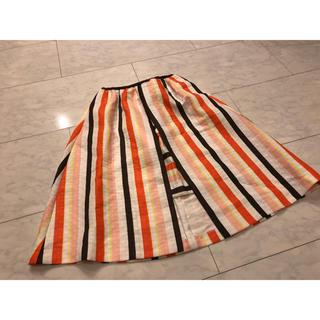 チェスティ(Chesty)のストライプスカート(ひざ丈スカート)