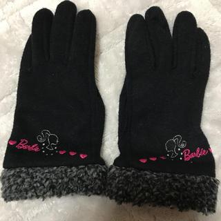 バービー(Barbie)のスマホ対応手袋(手袋)